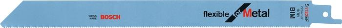 Rec.zaagbl.S 1122 EF l225mm bim.1,4mm getord.18td./in v.vlaksnede gefr.5 st./kt.