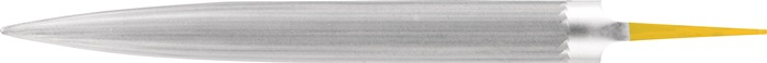 Puntvijl Corinox L.200mm kap SH 0 doorsn. 16x4,5mm rvs half-rd. PFERD