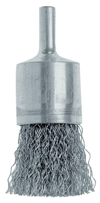 Penseelborstel d.30mm rvs-draad 0,3mm schacht-d.6mm schacht-d.6mm OSBORN