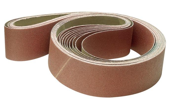 Schuurband korr.40 B.75xL.2000mm eindeloos korund PROMAT