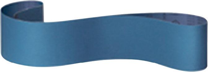 Schuurband CS 411 Y 75x2000mm korr.24 zirkoniumkorund KLINGSPOR