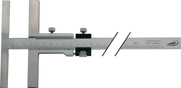 Aftekenschuifmaat 160mm m.TK aanslagl.135mm PREISSER