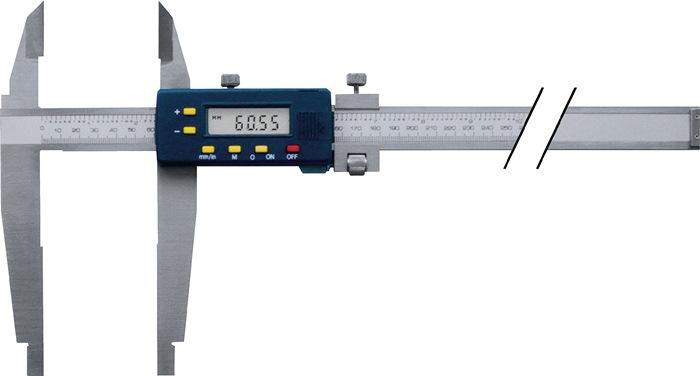 Digitale werkplaatsschuifmaat 500mm digitaal Bek-L.150 mm PROMAT