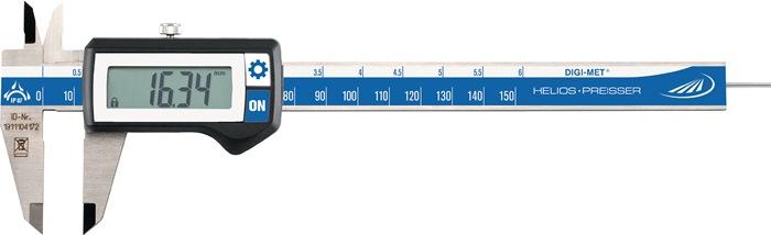 Dig. sch.mtDIN862 IP67 DIGI-MET 300mm dig. bek-l.65mm HELIOS PREISSER