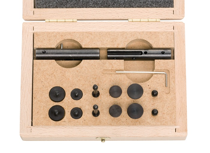 Meetset Extensions 15dlg. v.schuifmaat m.bek-l.40mm HELIOS PREISSER