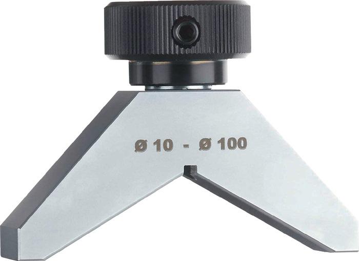 Dieptemeetbrug TB66 voor D.10-100mm Prismavorm voor meetklokken KÄFER