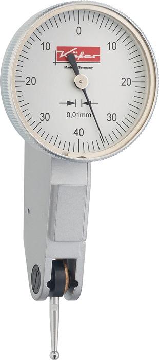 Zwenktaster K33 0,5mm aflezing 0,01mm rechthoekig Käfer