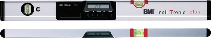 Elektronisch waterpas IncliTronic Plus L.80 cm digitale weergave BMI