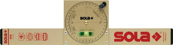 Hellingwaterpas NAM 50 T L.50mm m.magneet SOLA