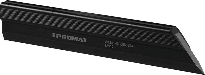 Haarliniaal DIN874/00 L.150 mm speciaalstaal Dwarsdoorsnede 25 x 5 mm PROMAT