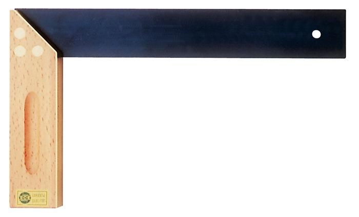 Meubelmakershaak L.300mm beukenhout/ms. met verstek ECE