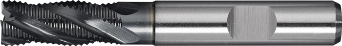 Schachtfrees DIN844 type HR d.16mm PM TiAlN 5 sneden kort PROMAT