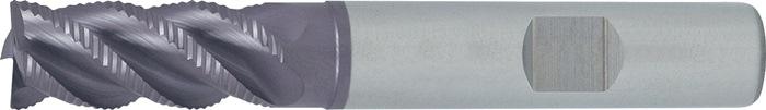 Schachtfrees DIN6527L type NR d.8mm VHM TiAIN 4 sneden lang PROMAT