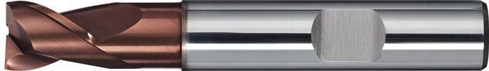 Schachtfrees DIN 6527 K d.14mm VHM TiAIN 2 sneden kort PROMAT