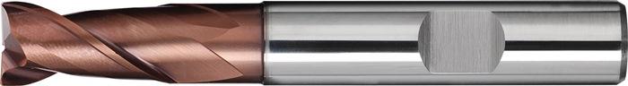 Schachtfrees DIN6527 L d.10mm VHM TiAIN 2 sneden lang PROMAT