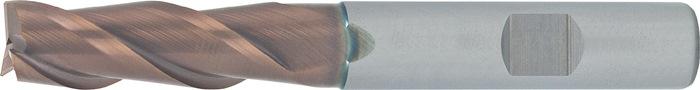 Schachtfrees fabrieksnorm d.20mm VHM TiAIN 3 sneden extra lang PROMAT