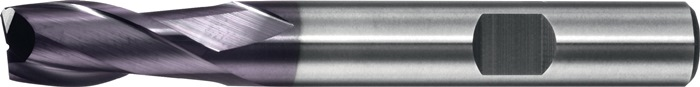 Schachtfrees 6527L d.12mm VHM TiAIN 2 sneden lang PROMAT