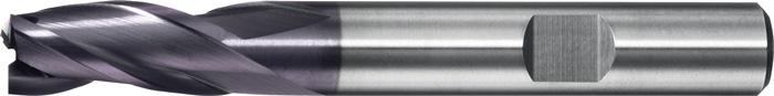 Schachtfrees 6527L d.18mm VHM TiAIN 3 sneden lang PROMAT
