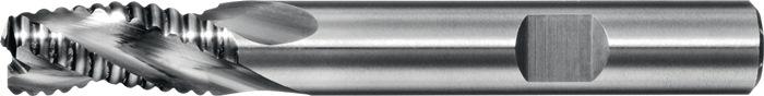 Ruwfrees 6527L d.14mm VHM 3 sneden lang PROMAT