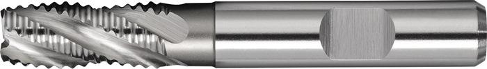 Schachtfrees DIN844 type NR d.10mm HSS-Co5 4 sneden kort PROMAT