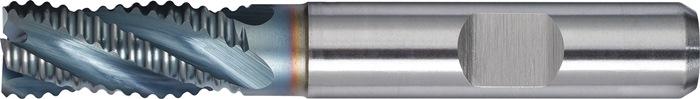 Schachtfrees DIN844 type NR d.16mm HSS-CoF TiCN 4 sneden kort PROMAT