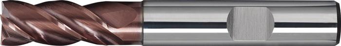 Schachtfrees DIN6527 L d.12mm VHM TiAIN 4 sneden lang PROMAT