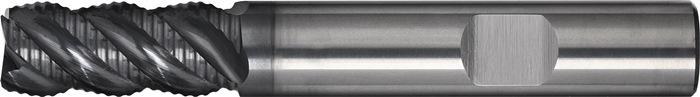 Schachtfrees DIN6527L type HR d.12mm VHM TiAIN 4 sneden lang PROMAT
