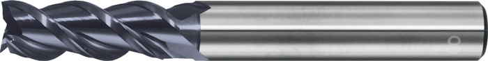 Schachtfrees Type W d.10mm VHM DLC 3 sneden lang PROMAT