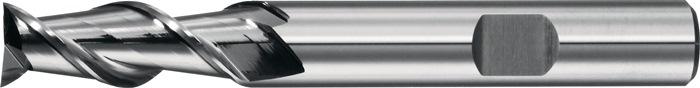 Schachtfrees Type W d.12mm VHM 2 sneden lang 45graden PROMAT