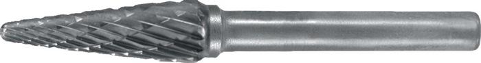 Stiftfr. v. SKM DIN8033 d.12xL.25mm HM kruis. vert. spitse kegelv. PROMAT