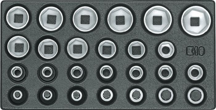 Gereedschapsmodule 26-delig B.157,5xD.310mm