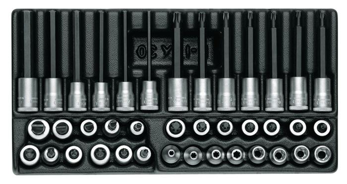 Gereedschapsmodule 39-delig B.157,5xD.310mm