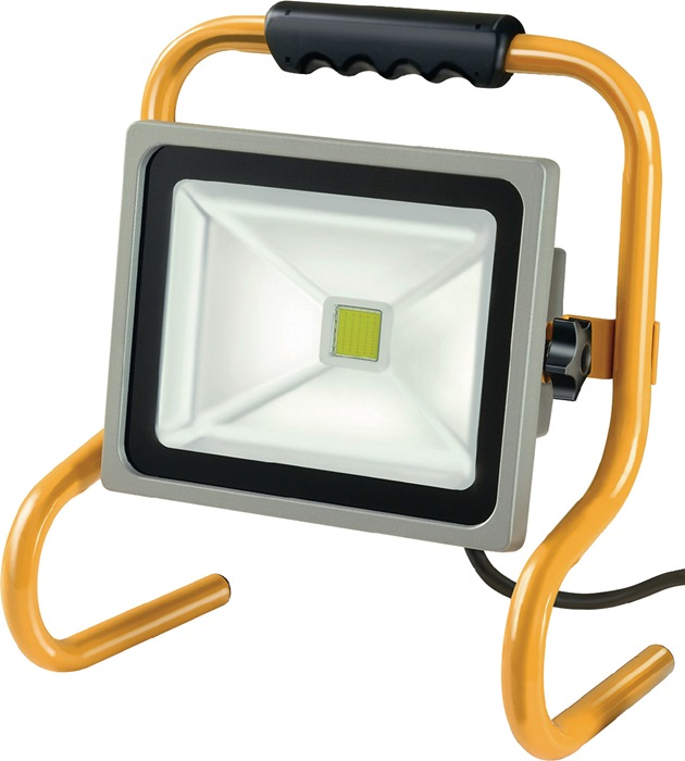 Chip-LED-lamp 80W 5m 3G1,0 IP65 5600lm stalen buisframe zwenk-/vergrendelbaar