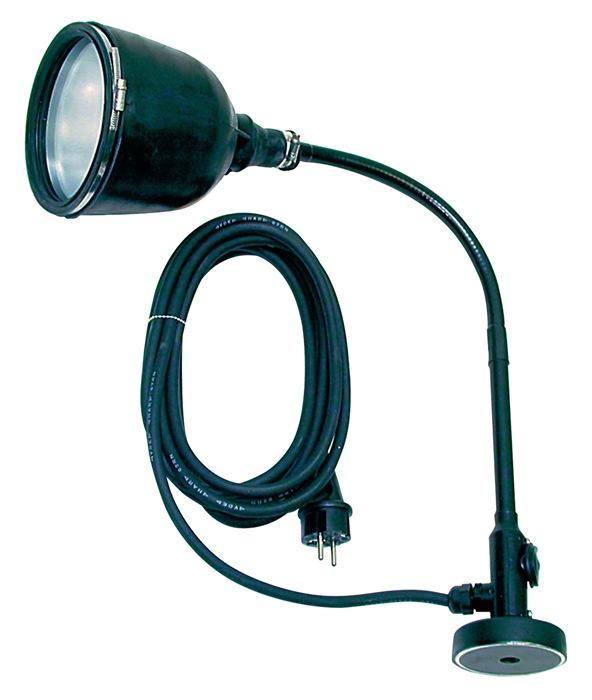 Machinelamp Induflex-M 100W kabel-L.5m H07RN-F m.magneetvoet 50kg ERSO INDULUX