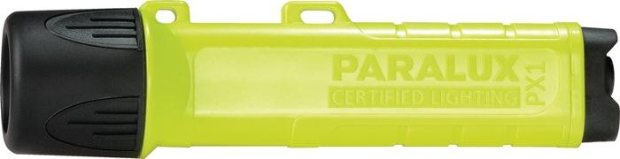 Zaklamp PX1 L.167mm lichtafst.150m 120lm EX geel LED waterdicht PARAT