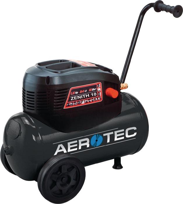 Compressor Zenith Eco 10 olievrij 200l 110l 24l 10bar 1,1kW 230/50 V/Hz Aerotec