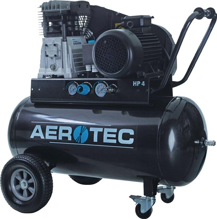 Compressor 600-90 TECH 600L/375L/90L/10bar/3,0kW verrijdbaar 400V AEROTEC