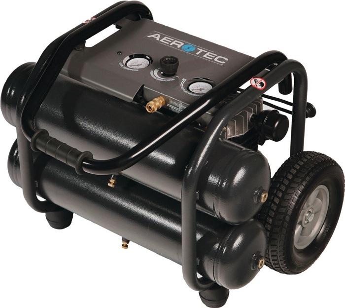 Compressor 290-20 315L/190L/10bar/2X11L/2,2kW verrijdbaar 230V AEROTEC