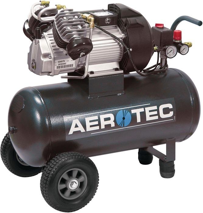 Compressor 400-50 390L/250L/10bar/50L/2,2kW verrijdbaar 230V AEROTEC