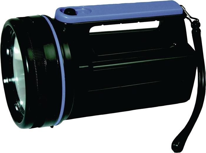 Handschijnwerper ku. robuust v.6V-blokbatterij m.lamp