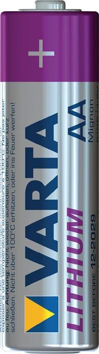Spec.batt.6106 cap. 2900 mAh spanng 1,5V mignon 50,5x14,5mm lithium 2st./blister