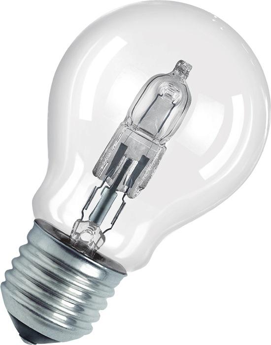 Halogeenlamp m.schroeffitt 46W E27 fitt 230V 700lm gloeilampv warm wit, dimbaar