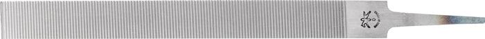 Platstompe vijl ähnlich DIN 7261, Form A L.250mm doorsn. 25x6mm kap0 v.zachtmet.