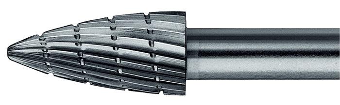 Stiftfrees vorm K SPK 10x20mm schacht-d.6mm HSS vertanding 3 PFERD