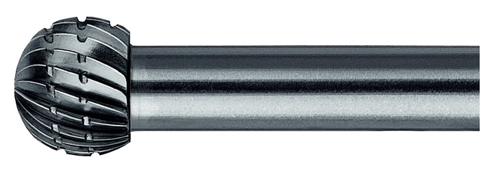 Stiftfrees vorm F KUD 6x5,4mm schacht-d.6mm HSS vertanding 3 PFERD
