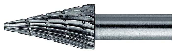 Stiftfrees vorm G SKM 12x25mm schacht-d.6mm HSS vertanding 3 PFERD