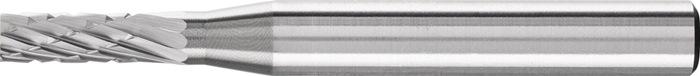 Stiftfrees vorm A ZYA 10x13mm schacht-d.6mm HM vertanding 3 PFERD
