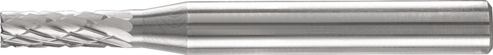 Stiftfrees vorm A ZYA 16x25mm schacht-d.6mm HM vertanding 5 PFERD
