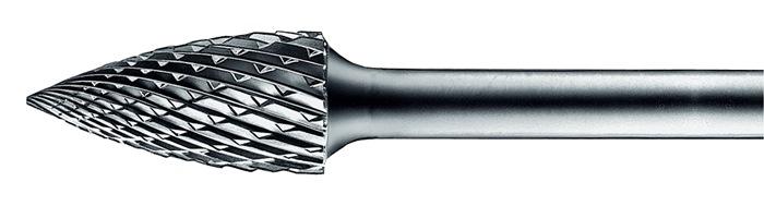 Stiftfrees vorm K SPG 12x30mm schacht-d.6mm HM vertanding 5 PFERD