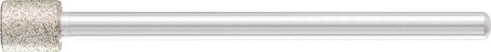 Diamantslijpstift schacht 9x8mm korr.D126 cilindervorm Pferd